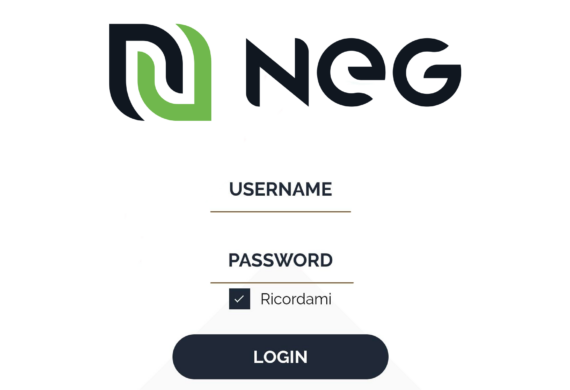 Guida alla registrazione da PC per accedere all'Area Clienti NEG