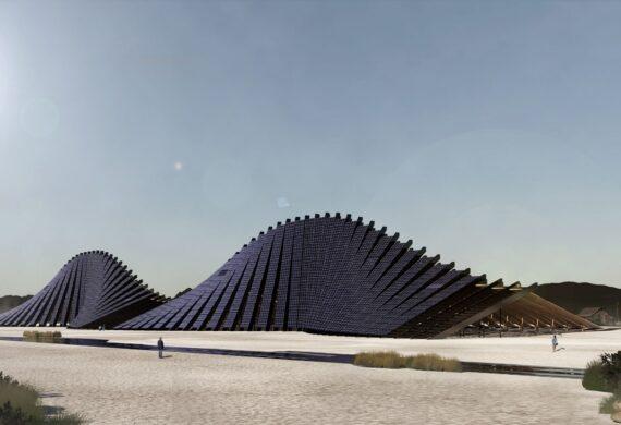 Una montagna solare per il Burning Man